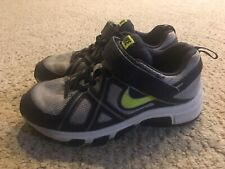 Boys Nike Athletic Tennis Shoes Sneakers Gym Size 2.5 2 1/2 Youth Kids Euc!