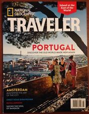 National Geographic Traveler Amsterdam London Bangkok Sept 2014 FREE SHIPPING!