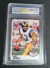 New listing 1999-00 Collector's Edge #Kw Kurt Warner Rookie - Super Bowl Xxxiv Wcg Gem-Mt 10