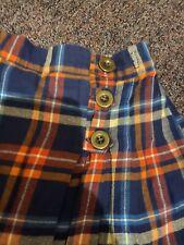 Girls Check Print Skirt Next 4-5 Years