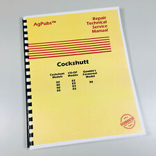 Gamble'S Farmcrest Model 30 Tractor Service Repair Manual Shop Book
