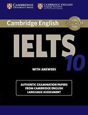 IELTS Practice Tests: CAMBRIDGE IELTS 10 STUDENT'S BOOK WITH ANSWERS by...