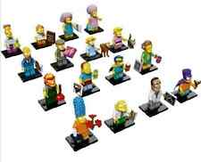 LEGO NEW THE SIMPSONS 2 COMPLETE SET OF 16 MINIFIGURES MINIFIGS 71009 FIGS