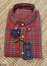 Ralph Lauren Mens Iconic Plaid Oxford Shirt Size XXL