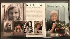 Papua New Guinea 2007 Royalty Lady Diana Sheets MNH x 2(Pap177