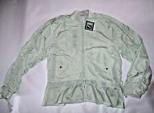 B11 Reg PUMA Women's Xtreme Frill Bomber Jacket Spray MINT Green L