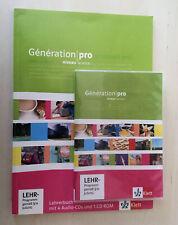 Génération pro niveau avancé 4 Lehrer-CD und Lehrersoftware alle Lösungen