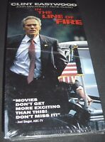 In the Line of Fire VHS NEW ~ Clint Eastwood John Malkovich ~ 043396523142