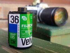 10 Rolls of Expired Fuji Fujichrome Velvia 50F Color slide film 135 (35 mm)