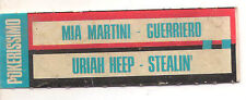 STICKER JUKE BOX - MIA MARTINI - GUERRIERO - URIAH HEEP - STEALIN'