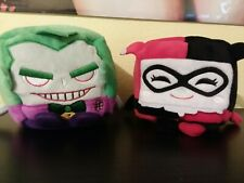 Joker & Harley Quinn Set Kawaii Cubes Medium DC Comics Plush Series 1 New NWT