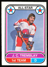 1975 76 OPC O PEE CHEE WHA #62 J.C. TREMBLAY A S VG-EX QUEBEC NORDIQUES HOCKEY
