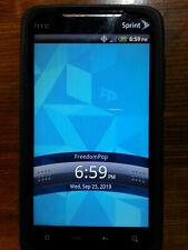 HTC Evo 4G PC36100 (Sprint- Freedompop) Black Smartphone