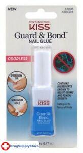 BL Kiss Guard & Bond Nail Glue 0.17 oz Odorless - Two PACK