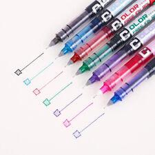 0.5mm Medium Gel Pen Color Ink Rollerball Pen Business Office School Supply Pens