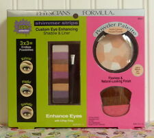 PHYSICIANS FORMULA POWDER PALETTE MULTI-COLORED & SHADOW LINER SHIMMER STRIPS