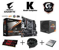PC Bundle AMD Ryzen 5 2600 (6x3,9GHz) + Gigabyte B450 AORUS M + 16GB 3000MHz