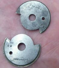 2 WATCHMAKERS TOPPING CUTTER / TOOL PETTAVEL