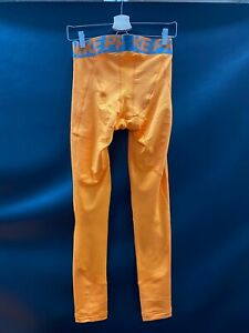 MIAMI DOLPHINS GAME USED ORANGE NIKE PRO COMPRESSION PANTS GREAT CONDITION!