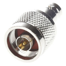 N Type Male Jack to BNC Female Plug Straight Connector K3H2