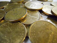 Lot of $25 in Circulated Gold Sacagawea Dollars 2000-2019 Most Are 2000 Denver