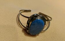 Made In Mexico Cuff with Huge Blue Lapis? Cabochon