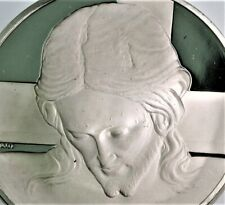"41 gram .925 (=1.21 .999 oz) silver ""HEAD OF CHRIST"" Michelangelo PROOF"