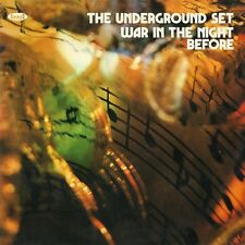 The Underground Set ‎– War In The Night Before LP Cinedelic NUOVA IDEA Fuzz