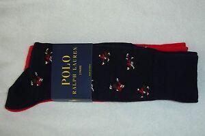 Polo Ralph Lauren Tumbling Skiers Socks 2-Pk