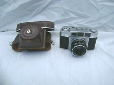 VINTAGE OLYMPUS 35-S CAMERA WITH CASE UNTESTED MADE IN JAPAN RARE