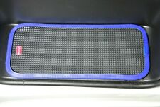 FIAT DUCATO/PEUGEOT BOXER 2007 ON RUBBER CAB STEP MATS WITH BLUE PVC EDGING