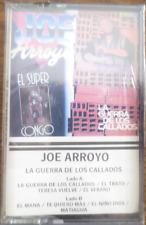 JOE ARROYO - LA GUERRA DE LOS CALLADOS - Cassette - NEW! Sealed!