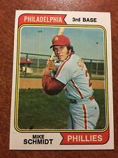 1974 Topps #283 Mike Schmidt NM