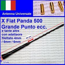 Universale Antenna Tetto radio auto FM Fiat 500 Grande Punto Panda Ypsilon Musa