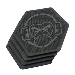 Mil Spec Monkey Logo x4 Pack Coasters | PVC, MSMC001BK