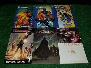 Marvel Comics Trade Paperbacks Ultimate Fantastic Four 1 2 3 Civil War 1602 TPB