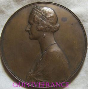 MED11113 - Medal Sm Astrid Queen Grace And Of Bonté 1934-1935 By Devreese