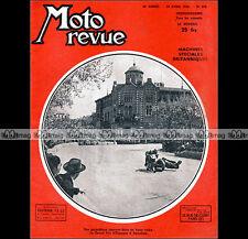 MOTO REVUE N°979 GRAND PRIX CARBURATEUR AMAL T10 RN MATCHLESS G80 CROSS OEC 1950