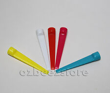 50 x Golf plastic strong Wedge Tees 70MM Large assorted bright colors