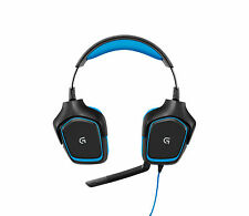 Logitech G430 Black/Blue Headband Headsets for PC