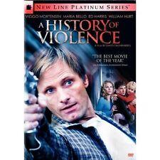 A History of Violence (DVD) Viggo Mortensen~Maria Bello~Ed Harris~William Hurt