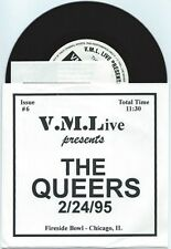 "The Queers ""VML Live in Chicago"" 7"" OOP Screeching Weasel Riverdales Ben Nobodys"