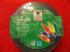 Holiday Accents Christmas lights on a wheel - LED multicolor- 200ct