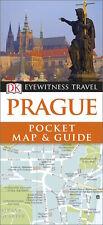 DK Eyewitness Prague Pocket Map & Guide *SALE PRICE - FREE SHIPPING - NEW*