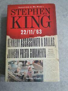 Stephen King, 22/11/'63 |