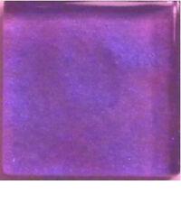 Glass Mosaic Tiles - Razzleberry Purple Metallic - 3/8 inch - 50 count