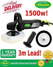 POLISHER CAR BUFFER 1500W 180MM SANDER ELECTRIC TOOLS VARIABLE SPEED SOFT PAD
