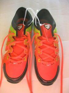 Nike Boys/Girls Neon Cleats w/defect SZ 5 Youth
