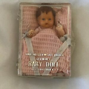 Vintage Shackman Baby Doll Soft Rubber German E  2.75 inches