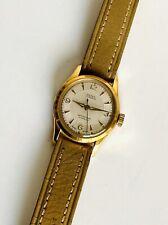 Beautiful 1950s OLMA Swiss 17 Jewel~Petite Gold Plated Womens/ Ladies  Watch
